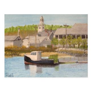 Fishing Boat - Rockport Mass. Postcard