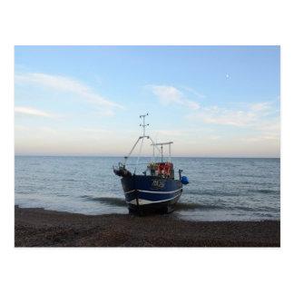 Fishing Boat RX256 Girl Kayla Postcard