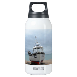 Fishing Boat Sapphire Insulated Water Bottle