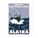 Fishing Boat Scene - Denali Nat'l Park, Alaska Post Cards