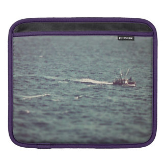 Fishing boat sleeve for iPads