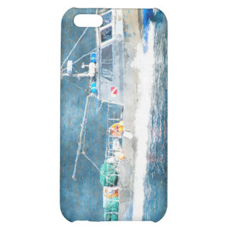 Fishing Boat Trawler Watercolour Art iPhone Case Case For iPhone 5C