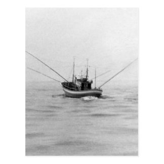 Fishing Boat Trolling Post Cards