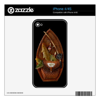 fishing boat v2 iPhone 4S decals