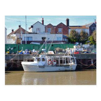 Fishing Boat YH 34 Postcard
