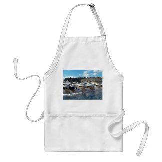 Fishing boats adult apron