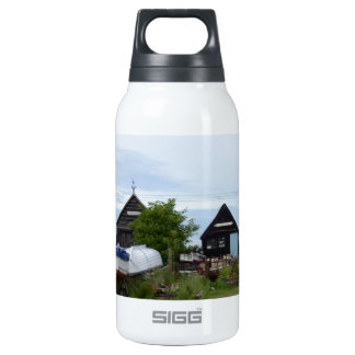 Fishing Boats and Fishermens' Huts Insulated Water Bottle