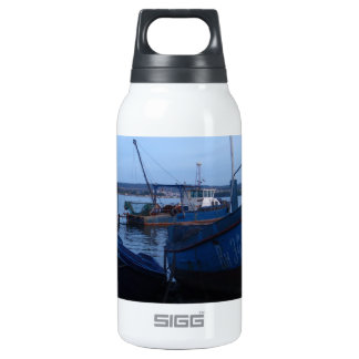 Fishing Boats At Dusk Insulated Water Bottle
