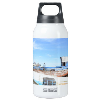 Fishing Boats At Hastings Insulated Water Bottle