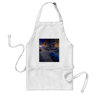 Fishing boats at Riomaggiore, Cinque Terre, Italy Adult Apron