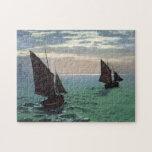 Fishing Boats at Sea Puzzles