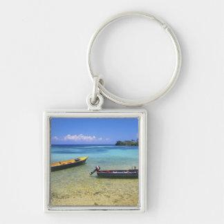 Fishing Boats, Boston Beach, Port Antonio, Keychain