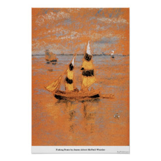 Fishing Boats by James Abbott McNeill Whistler Print