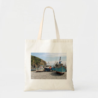 Fishing Boats Cadgwith Cornwall England Tote Bag