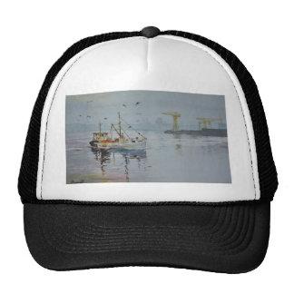 Fishing Boats Cap Trucker Hat