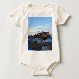 Fishing Boats Felicity And Four Brothers Baby Bodysuit