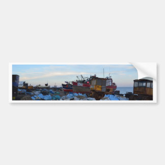 Fishing Boats Felicity And Four Brothers Bumper Sticker