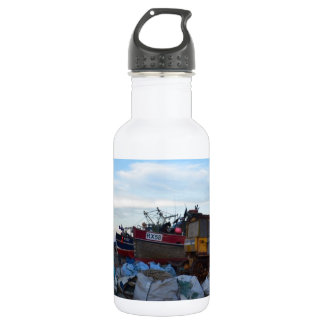 Fishing Boats Felicity And Four Brothers Water Bottle