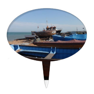 Fishing Boats In Kent Cake Pick