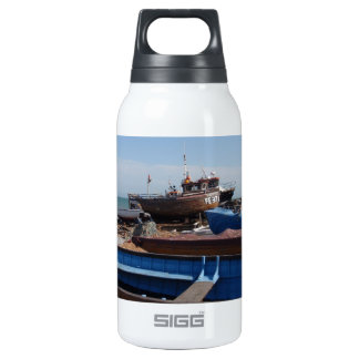Fishing Boats In Kent Insulated Water Bottle
