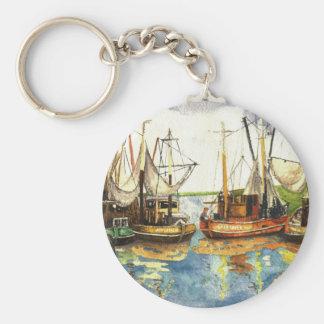 Fishing Boats Key Chains