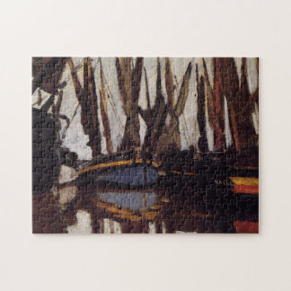 Fishing Boats Monet Fine Art Jigsaw Puzzle