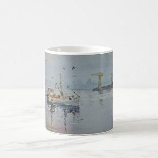 Fishing Boats Mug