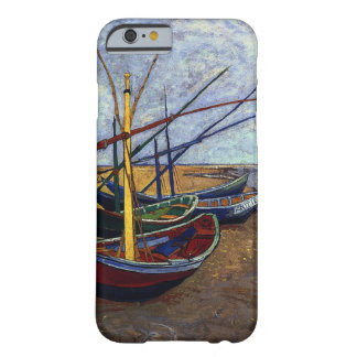 Fishing Boats on Beach Barely There iPhone 6 Case