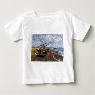 Fishing Boats on Beach Shirt