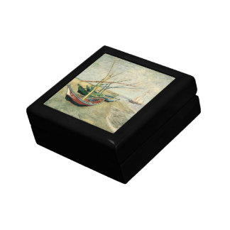 Fishing Boats on the Beach by Vincent van Gogh Gift Box