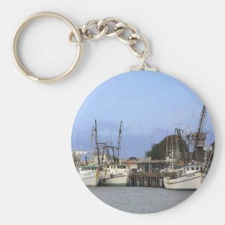 Fishing Boats Piers Docks Key Chains