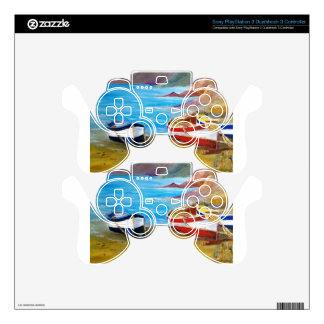 Fishing boats PS3 controller skins