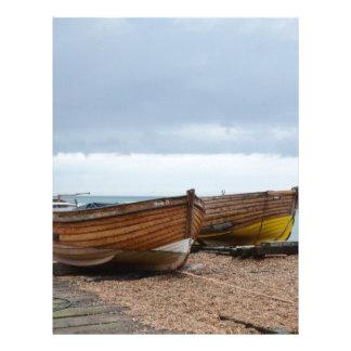 Fishing Boats Rosie II And Rudi Letterhead Design