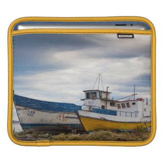 Fishing boats sleeve for iPads
