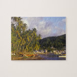 Fishing boats, Soufriere, St Lucia, Caribbean Jigsaw Puzzle