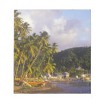 Fishing boats, Soufriere, St Lucia, Caribbean Notepad