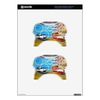 Fishing boats xbox 360 controller decal