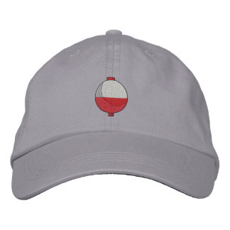 Fishing Bobber Embroidered Baseball Cap