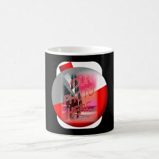 Fishing Bobber Frame Template Coffee Mug