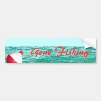 Fishing Bobber in Water Bumper Sticker