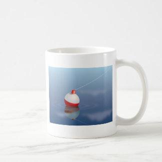 Fishing Bobber In Water Coffee Mug