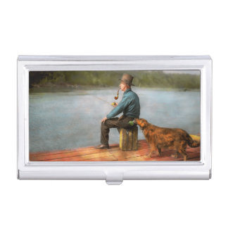 Fishing - Booze hound 1922 Business Card Case
