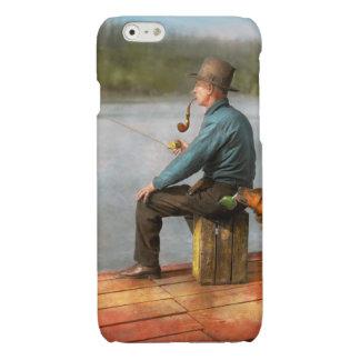 Fishing - Booze hound 1922 Glossy iPhone 6 Case