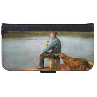 Fishing - Booze hound 1922 iPhone 6/6s Wallet Case