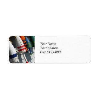 Fishing Bouy Address Label