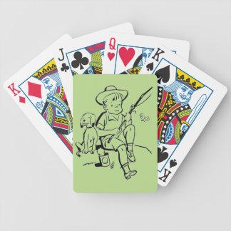Fishing Buddies Bicycle Playing Cards