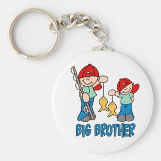 Fishing Buddies Big Brother Keychain