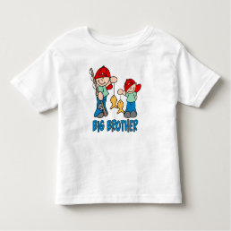 Fishing Buddies Big Brother Toddler T-shirt