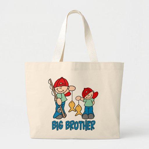 Fishing Buddies Big Brother Tote Bag