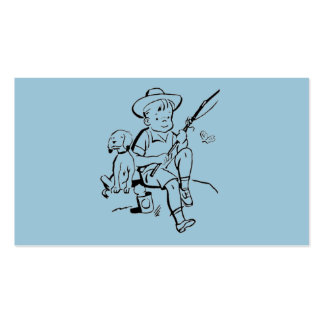 Fishing Buddies Double-Sided Standard Business Cards (Pack Of 100)